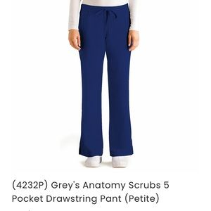 Greys Anatomy Barco 4232P Scrub Pant Small Petite.